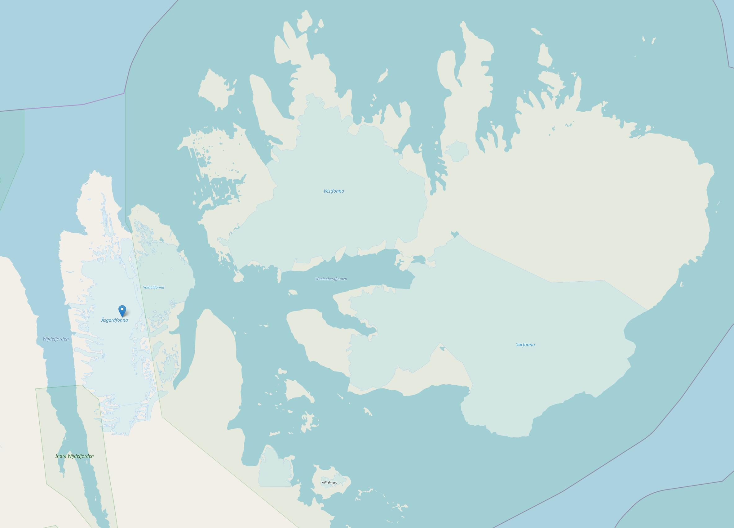 Gletscher auf Svalbard Zoom 8